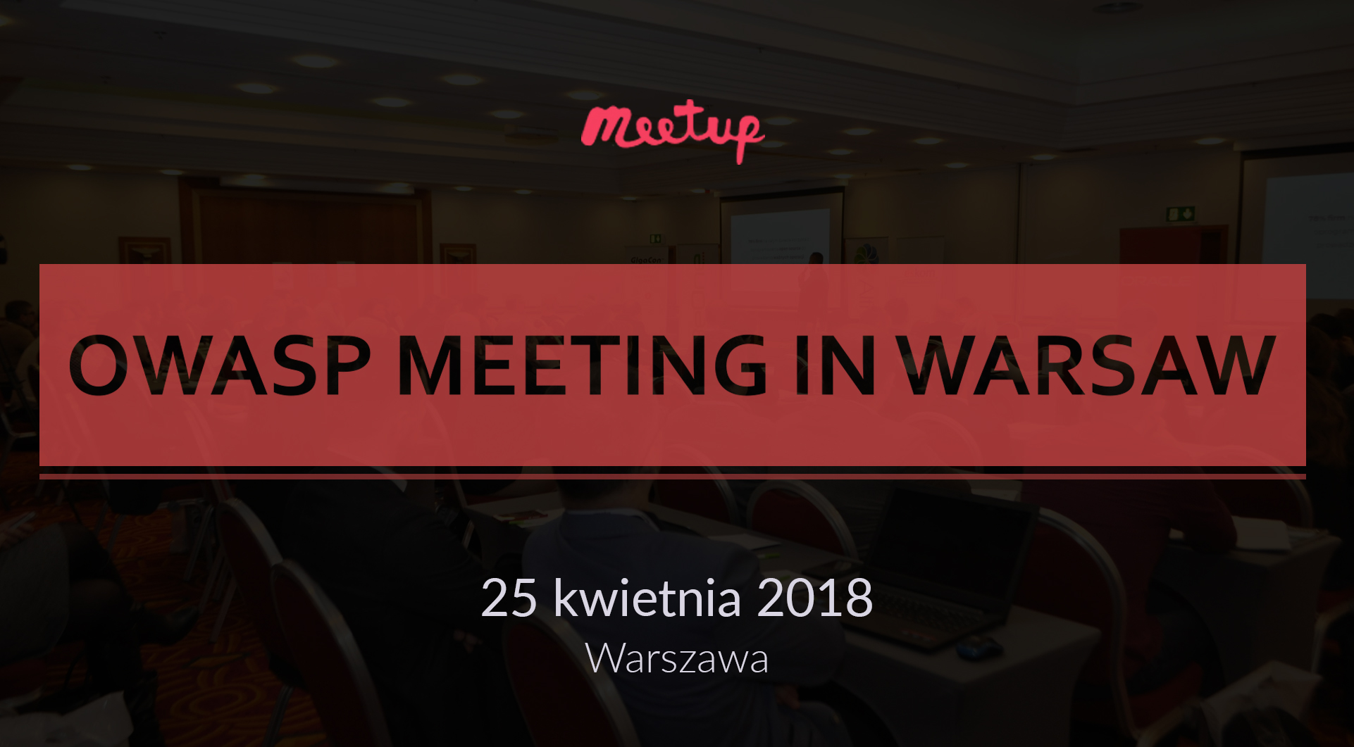 OWASP MeetUp in Warsaw