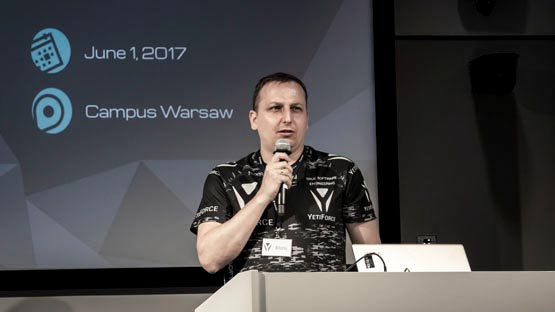 Open Source CRM Conference - Google Campus, Warszawa 2017