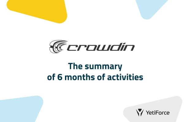 6 months on Crowdin - our achievements [INFOGRAPHIC]