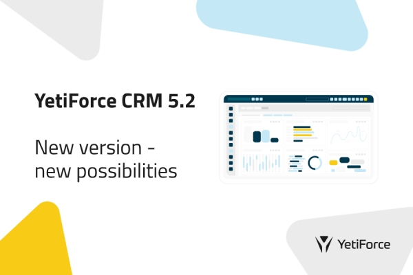 YetiForce CRM 5.2 - update your system